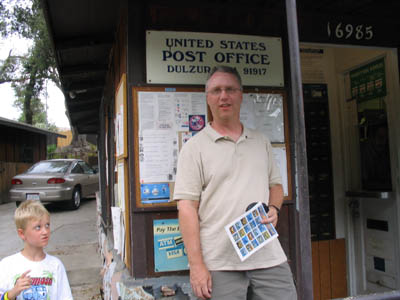 outside post office