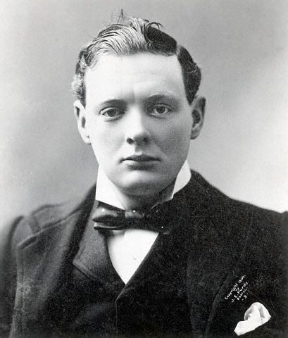 Churchill in 1900
